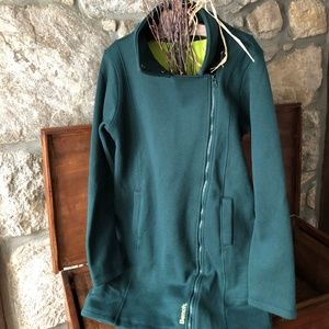NWT Bench Tally Funnel Neck Long Jacket Green XL